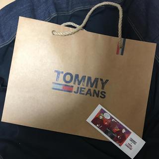 トミー(TOMMY)のTOMMYJEANS ショッパー 限定ステッカー付き(その他)