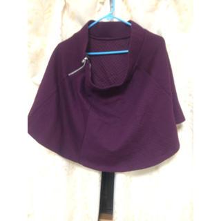 エイチアンドエイチ(H&H)の未使用品 H&M ムラサキ スカートです!(ミニスカート)