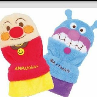 アンパンマン - BANDAI もこもこアンパンマン手袋