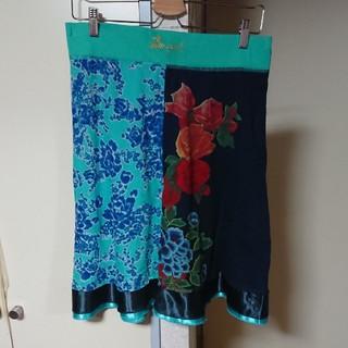 デシグアル(DESIGUAL)のデシグアル  Lサイズスカート(ひざ丈スカート)