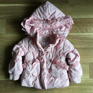 ジューシークチュール(Juicy Couture)のJUICY COUTURE フード付きジャンパー(ピンク)(ジャケット/コート)
