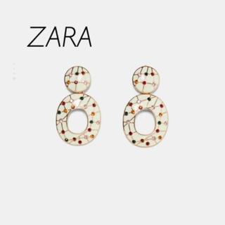 ZARA - 【新品・未使用】ZARA サークル デザイン ピアス