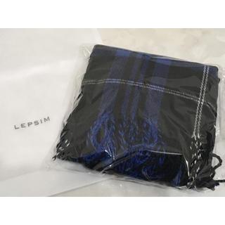 レプシィム(LEPSIM)の【新品】LEPSIM / マフラー / チェック柄(マフラー/ショール)