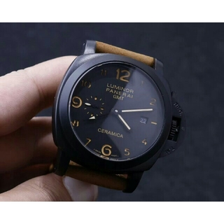 オフィチーネパネライ(OFFICINE PANERAI)のPANERAI腕時計 LUMINOR GMT 44mm(腕時計(アナログ))