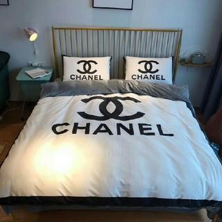 CHANEL - CHANEL チャンネル 寝具カバーセット 四セット 掛け布団カバー