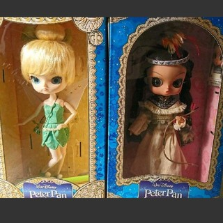 ディズニー(Disney)のプーリップ ダル/ビョル ティンカーベル/タイガーリリーフィギュア(人形)