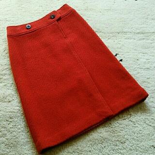 オールドイングランド(OLD ENGLAND)のOLD ENGLAND オールドイングランド ウールスカート 36(ひざ丈スカート)