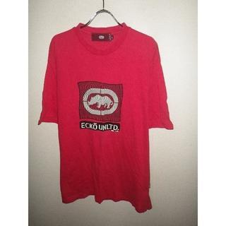 エコー(ECHO)のz8614ECKO★エコー★プリント半袖Tシャツ★HIPHOP★USA★90's(Tシャツ/カットソー(半袖/袖なし))