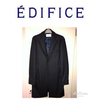エディフィス(EDIFICE)のエディフィス チェスターコート EDIFICE イタリア製 メイドインイタリー(チェスターコート)
