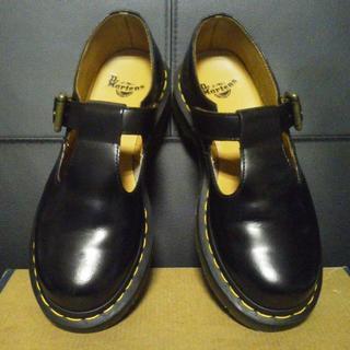 ドクターマーチン(Dr.Martens)の【極美品】Dr.Martens POLLEY UK3 黒 メリージェーン(ローファー/革靴)