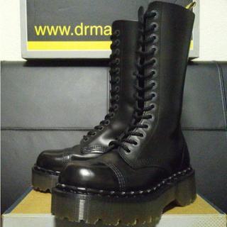 ドクターマーチン(Dr.Martens)の【激レア】Dr.Martens 英国製 クレイジーボム UK4 厚底 14ホール(ブーツ)
