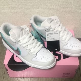Nike SB Dunk Low Diamond  白 27.5cm(スニーカー)