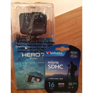 ゴープロ(GoPro)のゴープロ hero7 シルバー(コンパクトデジタルカメラ)