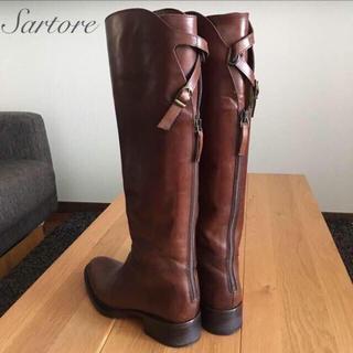 サルトル(SARTORE)の送料込み⭐️SARTORE サルトル * ジョッキーブーツ 36.5(ブーツ)