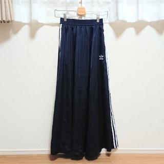アディダス(adidas)のadidas スリーストライプロングスカート(ロングスカート)