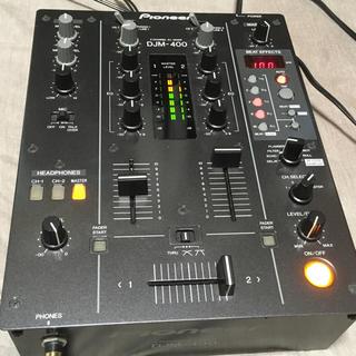 【美品】pioneer DJM400 DJミキサー(DJミキサー)