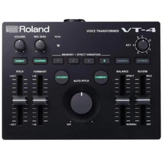 ローランド/VT4- ボイストランスフォーマー 新品 入手困難(DJエフェクター)