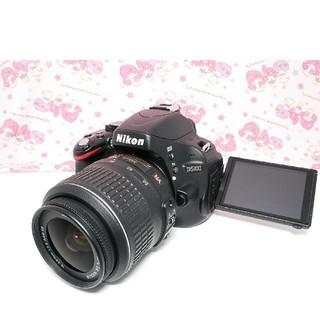 ニコン(Nikon)の❤️美品♪Wi-Fi付き!!❤️NIKON ニコン D5100 手振れ補正レンズ(デジタル一眼)