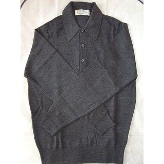 ジョンスメドレー(JOHN SMEDLEY)の新品未使用 ジョンスメドレー ウール 長袖 ニットポロ 24G(ニット/セーター)