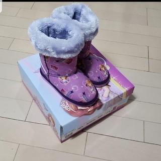 ディズニー(Disney)の値下げ!! 暖かい ムートンブーツ 17.0(ブーツ)