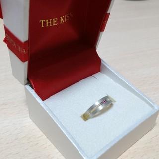 ザキッス(THE KISS)の☆最終値下げ☆THE KISS  指輪  ピンクダイヤモンド  シルバー  9号(リング(指輪))