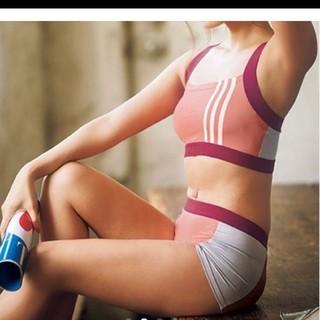 アディダス(adidas)のタグ付き新品☆ブランドスポーツブラ(ブラ)