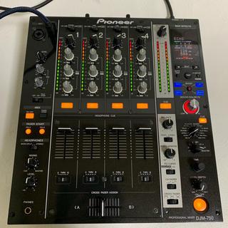パイオニア(Pioneer)の【人気機種】Pioneer DJM750 DJミキサー 13年製(DJミキサー)