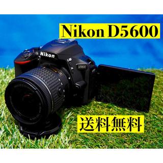 ニコン(Nikon)の最新カメラ 高性能 Nikon D5600 Wi-Fi機能付 自撮り楽々(デジタル一眼)