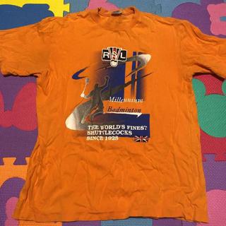 アールエスエル(RSL)のRSL Tシャツ M オレンジ(バドミントン)