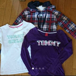 トミーガール(tommy girl)のtommy girl パーカー ロンT  Tシャツ まとめ売り(パーカー)