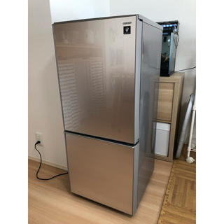 SHARP - 冷蔵庫 SHARP プラズマクラスター付き
