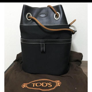 トッズ(TOD'S)のTOD's ショルダーバッグ  黒(ショルダーバッグ)