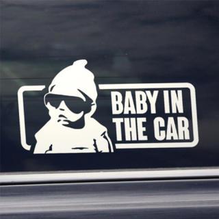 ベビーインカー/BABY IN CAR:グラスデザイン/WH