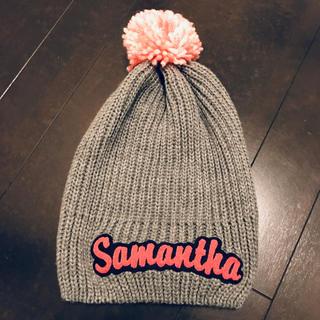 サマンサタバサ(Samantha Thavasa)のサマンサタバサ★ニット帽(ニット帽/ビーニー)