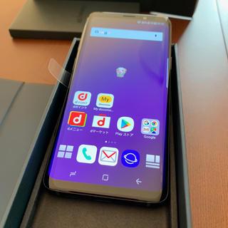 NTTdocomo - Galaxy S9(SC-02K)Midnight Black