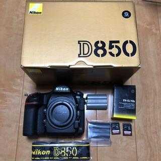 ニコン(Nikon)の良品 ニコン D850 ボディ(デジタル一眼)