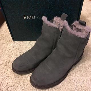 エミュー(EMU)のエミュ 完全防水 サイドゴア ファーブーツ(ブーツ)