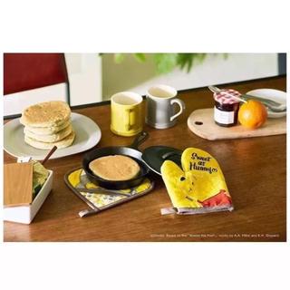クマノプーサン(くまのプーさん)のくまのプーさん 鍋つかみ & 鍋しき 2点セット(収納/キッチン雑貨)