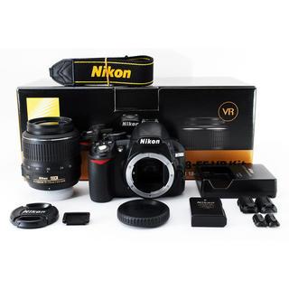 ニコン(Nikon)の★一眼レフ初心者の方にも★ニコン D3100 手振れ補正レンズキット(デジタル一眼)