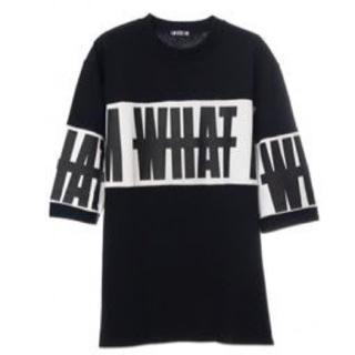 トリプルエー(AAA)のI AM WHAT I AM(Tシャツ/カットソー(七分/長袖))