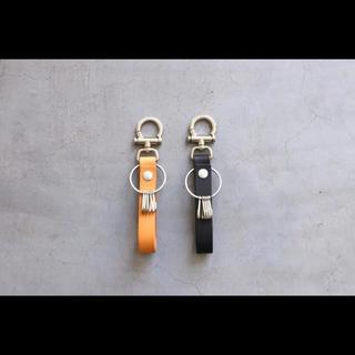 エンダースキーマ(Hender Scheme)の[美品]HenderScheme エンダースキーマ key flock ブラック(キーホルダー)