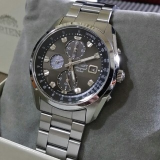 オリエント(ORIENT)のORIENT クロノグラフ(腕時計(アナログ))