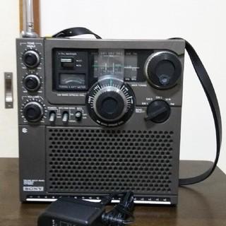 ソニー(SONY)のソニー icf-5900 5バンドラジオ FM、MW、SW1~3 中古品(ラジオ)