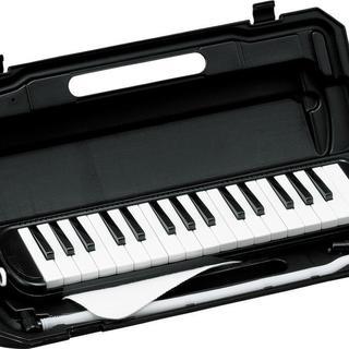 【大人気】鍵盤ハーモニカ ブラック(その他)