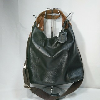 1366a84a68ad フルラ(Furla)の本物フルラ本革ハンドバッグショルダー鞄2WAY黒ビジネストラベル