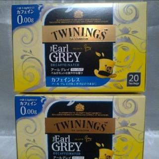 トワイリング紅茶 アールグレイ カフェインレス紅茶40包(茶)