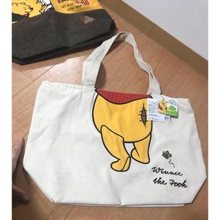 クマノプーサン(くまのプーさん)のプーさん 新品 ハンドバッグ トートバッグ バッグ くまのプー ディズニー(トートバッグ)