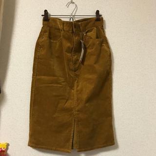 GU - GU コーデュロイタイトスカート