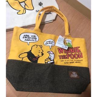 クマノプーサン(くまのプーさん)のプーさん 新品 ハンドバッグ トートバッグ バッグ くまのプー ディズニー(キャラクターグッズ)