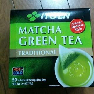 イトウエン(伊藤園)の伊藤園matcha green tea 50p×二箱(茶)